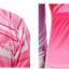 ชุดปั่นจักรยานผู้หญิง สีชมพู เสื้อสั้น กางเกง 3 ส่วน thumbnail 5