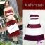 Maxi dress ผ้าชีฟอง แขนกุด มีซับใน สีทูโทน thumbnail 1