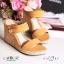 รองเท้าส้นเตารีดทรงสวม สายคาด 2 ตอน thumbnail 3