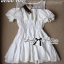 DR-LR-069 Lady Lara Sweet Casual Cotton Lace Mini Dress thumbnail 11