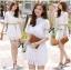 Lady Jennifer Sweet Button Down Organza Lace Dress L182-69C03 thumbnail 1