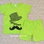 [ไซส์ 3-7 ปี] เสื้อยืดเด็กสกรีนลาย กางเกงขาสั้น ผ้า Cotton100% ผ้านิ่ม