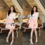 DR-LR-046 Lady Mina Smart Casual Lace and Pleated Dress thumbnail 2