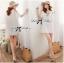 DR-LR-222 Temperley London Giovanna Embellished White Tunic Dress thumbnail 2