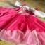 เดรสเจ้าหญิงนิทรา สีชมพูสวย การตัดเย็บดีค่ะ ไซส์ 110,120,130 thumbnail 2