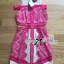 Three Floor Mischief Lace Dress in Hot Pink Nude L182-89C09 thumbnail 5