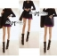 DR-LR-230 Lady Pauline Minimal Glam Mini Dress thumbnail 2