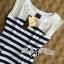 DR-LR-194 Lady Suzi Basic Chic Striped Mini Dress thumbnail 11
