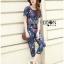 Lady Taylor Street Chic Fashionable Printed Soft Denim Set L262-7502 thumbnail 11
