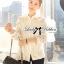 Lady Blaire Floral Embroidered Lace Shirt in White L274-7509 thumbnail 8