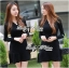 DR-LR-250 Lady Lisa Formal Chic Evening-wear Knit Dress thumbnail 1