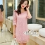 Annie dress pink lace embroidery Lady by Aris Code ุA254-654705 thumbnail 7