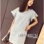 Lady Jill Geometry Flared-Sleeved Brocade Denim Dress L193-69C05 thumbnail 4
