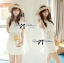 lady Charlotte Little White Lace Off-shoulder Mini Dress L156-49A05 thumbnail 9