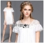 Lady Mandy Pretty Feminine Embellished Lace and Chiffon Dress L226-75C04 thumbnail 2