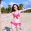 SM-V1-220 ชุดว่ายน้ำแฟชั่น คนอ้วน เด็ก ดารา thumbnail 2