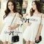 DR-LR-069 Lady Lara Sweet Casual Cotton Lace Mini Dress thumbnail 5