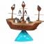 BO055 Pirate boat balancing Gameเกมส์บอร์ด เสริมพัฒนาการ เกมส์ติด เกมส์เพนกวินตกเรือโจรสลัด ฝึกไหวพริบ และ การทรงตัว thumbnail 6
