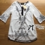 Miami Beach Embroidery Chiffon Dress thumbnail 12
