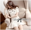 DR-LR-092 Lady Eva Sweet Perfect Embellished Flower Mini Dress thumbnail 2