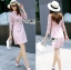 Lauren Holiday Look Guipure Lace Dress in Pink L248-7514 thumbnail 5