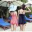 SM-V1-133 ชุดว่ายน้ำแฟชั่น คนอ้วน เด็ก ดารา thumbnail 6