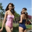 SM-V1-180 ชุดว่ายน้ำแฟชั่น คนอ้วน เด็ก ดารา thumbnail 3