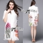 Lady Claire Flower Embroidered Organza and Cotton Shirt Dress L201-75C11 thumbnail 15