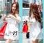 lady Charlotte Little White Lace Off-shoulder Mini Dress L156-49A05 thumbnail 6