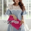 DR-LR-094 Lady Natalie Casual Slouchy Lace and Denim Dress thumbnail 11