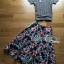 Lady Liz Lace Jumper and Floral Printed Midi Skirt Set L200-89C11 thumbnail 11