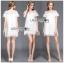 Lady Mandy Pretty Feminine Embellished Lace and Chiffon Dress L226-75C04 thumbnail 6