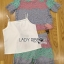 Lady Rachel Rainbow Pastel Striped Lace Set L263-7908 thumbnail 11