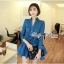 DR-LR-154 Lady Sarah Smart Casual Feminine Denim Shirt Dress thumbnail 15