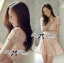 DR-LR-082 Lady Rosy Beautiful Sweet Elegant Dress thumbnail 1