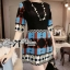 Lady Anne Minimal Chic Graphic Mini Dress L133-69C02 thumbnail 4