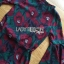 Lady Amanda Dramatic Burgundy Floral Printed Flared-Sleeve Dress L239-69C10 thumbnail 18