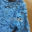 Stephanie Sweet and Chic Baby Blue Lace Dress with Belt L219-89C11 thumbnail 8