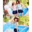 SM-V1-309 ชุดว่ายน้ำแฟชั่น คนอ้วน เด็ก ดารา thumbnail 4