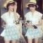 Abigail Pretty and Sexy White Lace Mini Dress L216-65C04 thumbnail 1