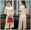 Lady Ariana Round n' Round Cotton Embroidered Top and Pants Set L273-8911 thumbnail 1