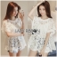 Lady Romy Romantic White Guipure Lace and Cotton Top L265-7507 thumbnail 1