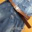 Lady Alison Sporty Elegant Embellished Denim Pantsuit wit Belt L199-95C07 thumbnail 16
