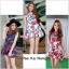 Dress กุหลาบแดงคอตั้ง thumbnail 1