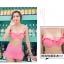 SM-V1-405 ชุดว่ายน้ำเซ็ต 3 ชิ้น สีชมพู (บรา+กางเกง+เสื้อคลุมผ้าลูกไม้) thumbnail 16