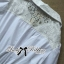 DR-LR-106 Lady Yuri All White Glam Chic Shirt Dress thumbnail 10