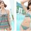 SM-V1-161 ชุดว่ายน้ำแฟชั่น คนอ้วน เด็ก ดารา thumbnail 2