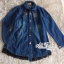 Jeans jacket female spring Korean lace long-sleeved shirt by Aris Code thumbnail 4