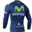เสื้อปั่นจักรยาน แขนยาว Movistar พร้อมส่ง thumbnail 2