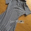 Lady Minimal Chic Striped Collared Peplum Dress L271-7503 thumbnail 15